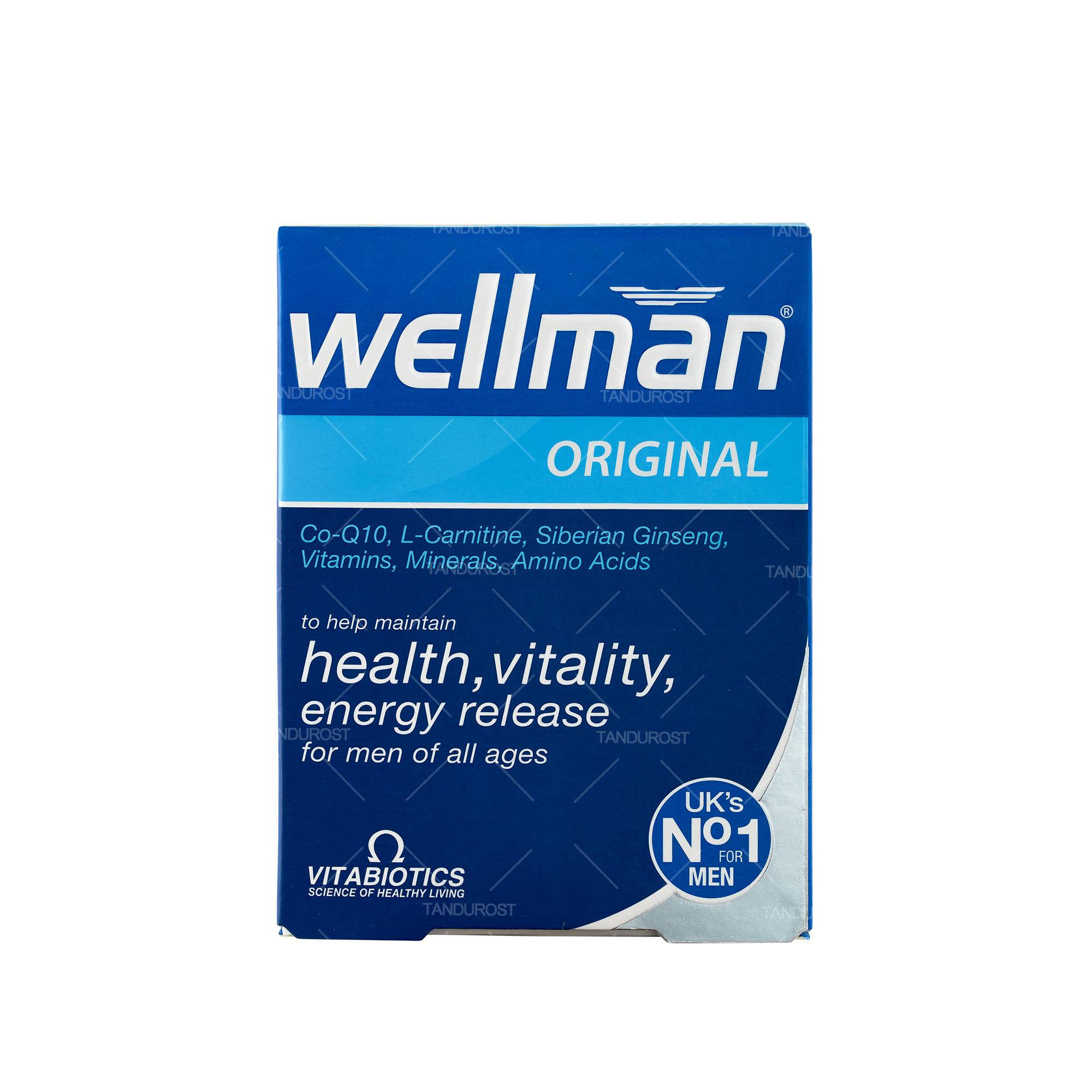 مولتی ویتامین ول من اورجینال ویتابیوتیکس